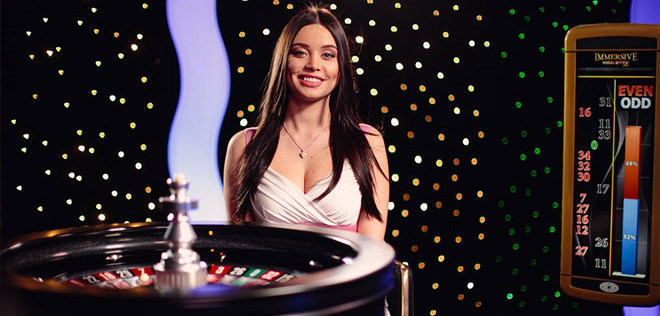 live roulette girls